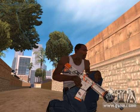 CS:GO Weapon pack Asiimov for GTA San Andreas third screenshot