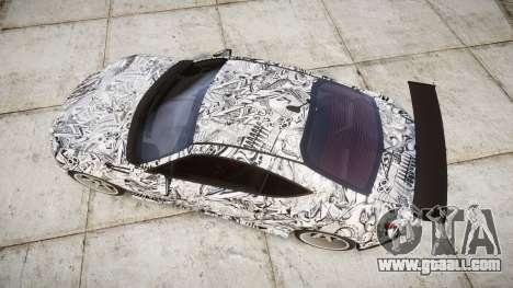 Subaru BRZ 2011 Sharpie for GTA 4 right view