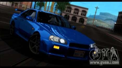 Forza Silver ENB for medium PC for GTA San Andreas fifth screenshot