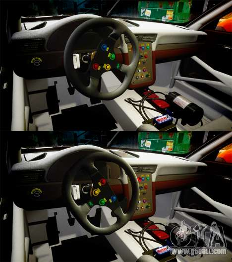 RUF RGT-8 GT3 [RIV] Project CARS for GTA 4 upper view