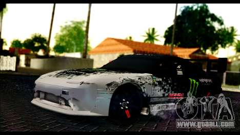 Nissan 180SX Monster Energy Spoiler for GTA San Andreas