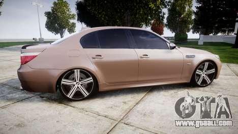 BMW M5 E60 v2.0 Wald rims for GTA 4 left view