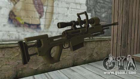Piers Nivans Rifle from Resident Evil 6 for GTA San Andreas second screenshot