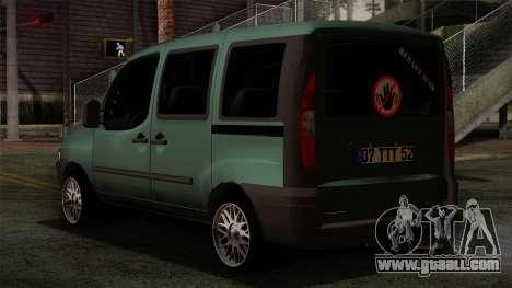 Fiat Doblo 2005 for GTA San Andreas left view