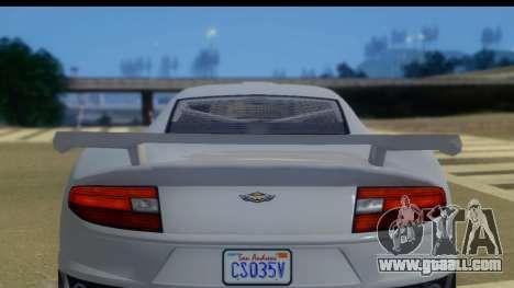 GTA 5 Dewbauchee Massacro IVF for GTA San Andreas back left view