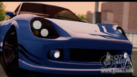 Comet from GTA 5 for GTA San Andreas right view