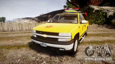 Chevrolet Silverado Lifeguard Beach [ELS] for GTA 4