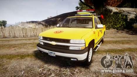Chevrolet Silverado Lifeguard Beach [ELS] for GTA 4