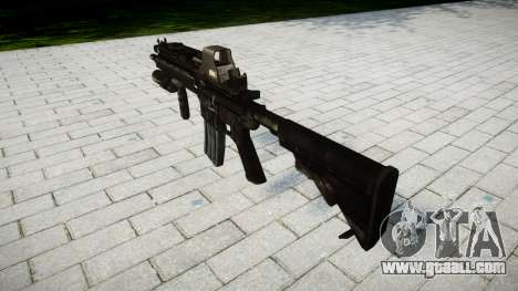 The HK416 rifle Tactical target for GTA 4 second screenshot