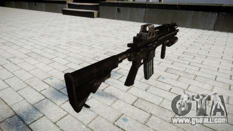 The HK416 rifle Tactical for GTA 4 second screenshot