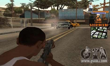 C-HUD by Fernando Delgado for GTA San Andreas