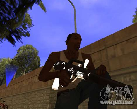 Hitman Weapon Pack v2 for GTA San Andreas second screenshot