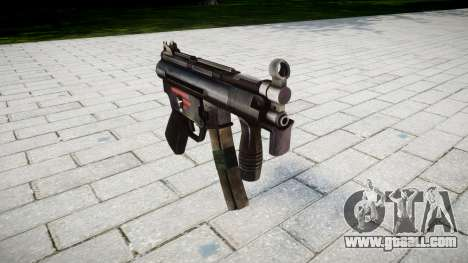 Gun MP5K for GTA 4