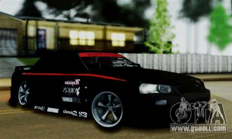 Nissan Skyline for GTA San Andreas