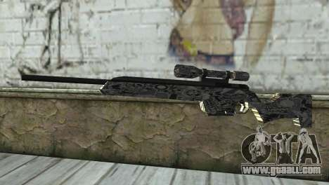 New sniper rifle for GTA San Andreas