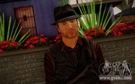 Murdered Soul Suspect Skin 2 for GTA San Andreas third screenshot