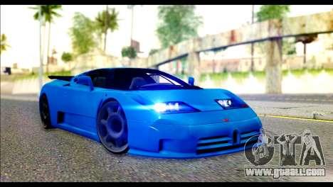 Bugatti EB110SS for GTA San Andreas