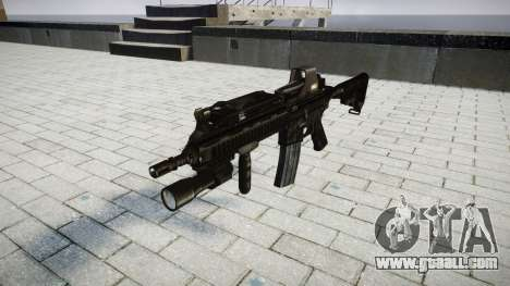 The HK416 rifle Tactical target for GTA 4