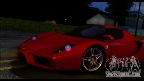 Forza Silver ENB for medium PC for GTA San Andreas