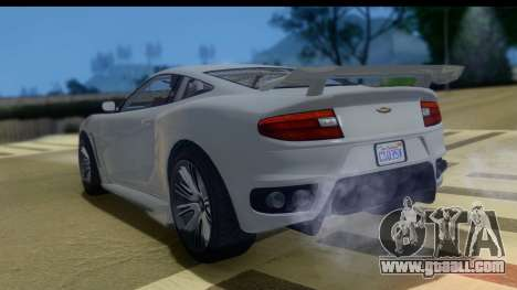 GTA 5 Dewbauchee Massacro IVF for GTA San Andreas left view