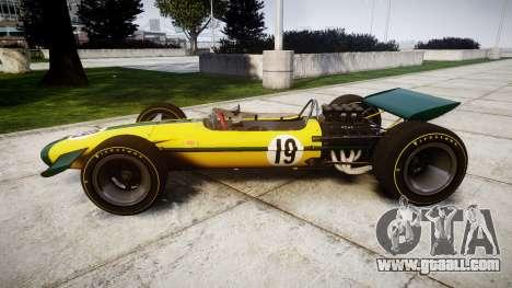 Lotus Type 49 1967 [RIV] PJ19-20 for GTA 4 left view