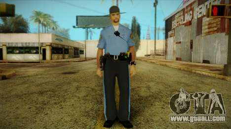 Missouri Highway Patrol Skin 2 for GTA San Andreas