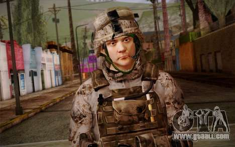 Chaffin from Battlefield 3 for GTA San Andreas third screenshot
