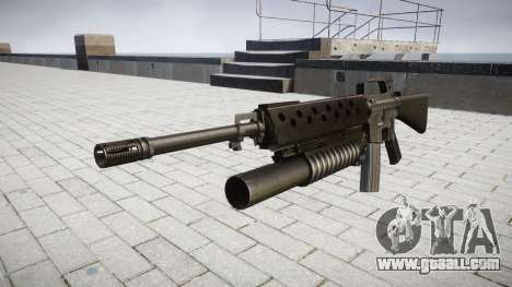 Rifle M16A2 M203 sight2 for GTA 4