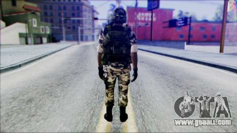 Hecu Soldier 2 from Half-Life 2 for GTA San Andreas second screenshot
