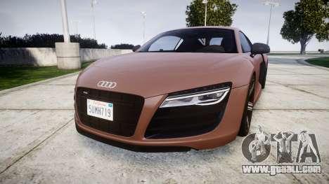 Audi R8 plus 2013 Wald rims for GTA 4