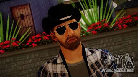 Gedimas Edward Skin HD for GTA San Andreas third screenshot
