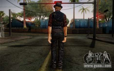 Murdered Soul Suspect Skin 2 for GTA San Andreas second screenshot