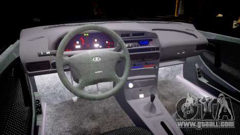 VAZ-2114 for GTA 4 inner view