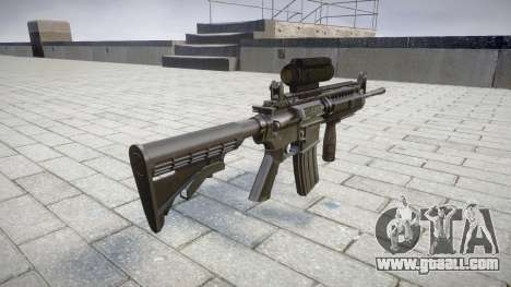 Automatic M4 carbine Sirs Tactical target for GTA 4 second screenshot