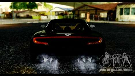Aston Martin One-77 Beige Black for GTA San Andreas right view