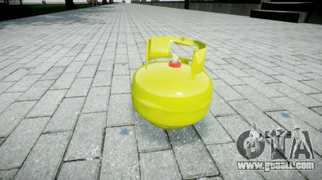 Pomegranate-Gas cylinder- for GTA 4