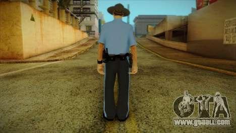 Missouri Highway Patrol Skin 2 for GTA San Andreas second screenshot