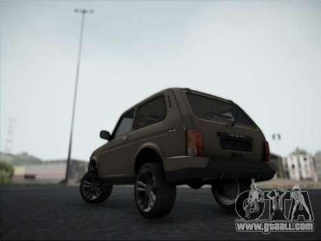 Lada Urdan for GTA San Andreas back view
