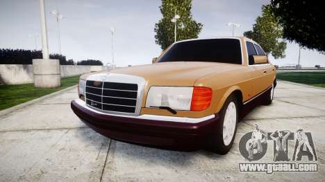 Mercedes-Benz 560SEL W126 for GTA 4