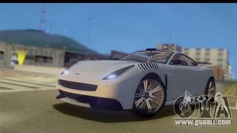 GTA 5 Dewbauchee Massacro IVF for GTA San Andreas