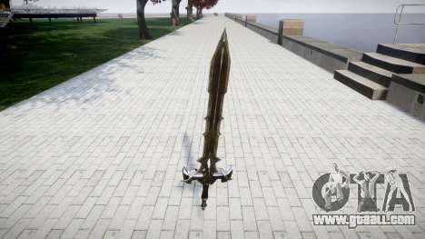 The sword-the Black knight- for GTA 4
