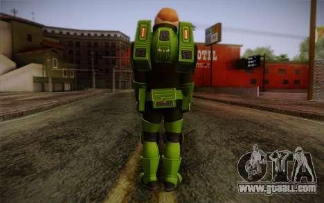Space Ranger from GTA 5 v2 for GTA San Andreas second screenshot