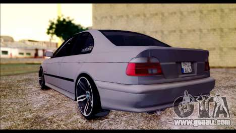 BMW 520d 2000 for GTA San Andreas left view