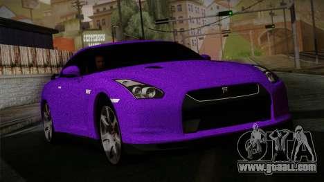 Nissan GTR-R35 for GTA San Andreas