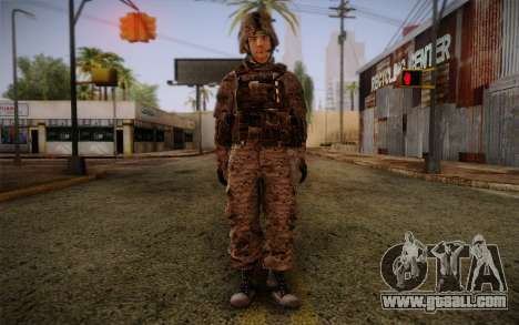 Chaffin from Battlefield 3 for GTA San Andreas