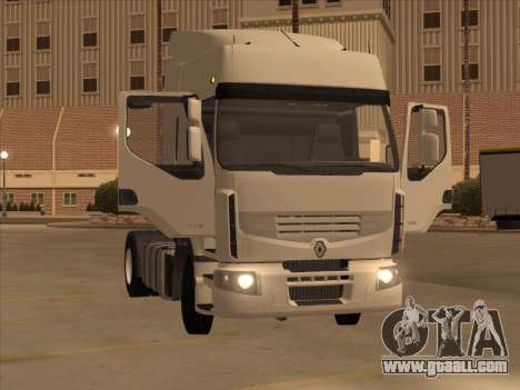 Renault Premium for GTA San Andreas right view