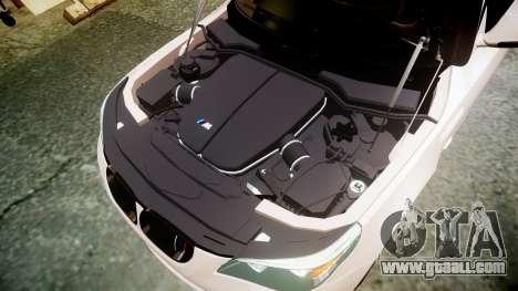 BMW M5 E60 v2.0 Wald rims for GTA 4 side view