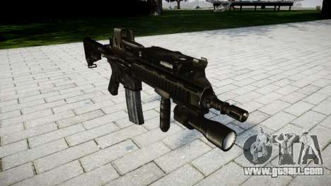 The HK416 rifle Tactical for GTA 4