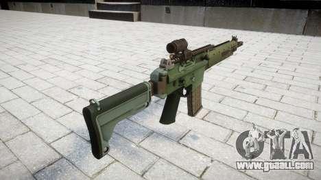 Automatic rifle target Ak5C for GTA 4 second screenshot