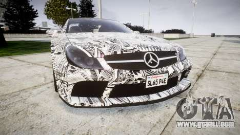 Mersedes-Benz SL65 AMG 2009 Sharpie for GTA 4